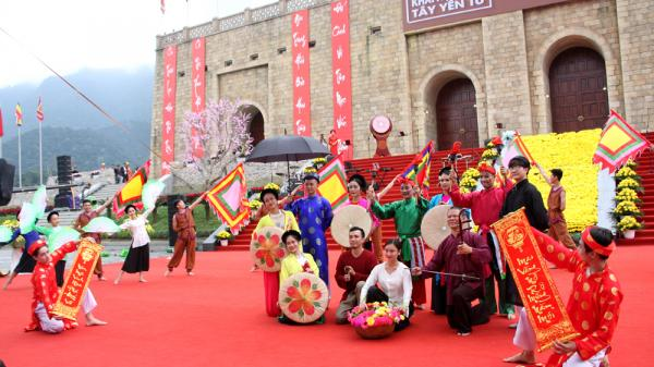 Bắc Giang: Tưng bừng Lễ khai hội xuân Tây Yên Tử