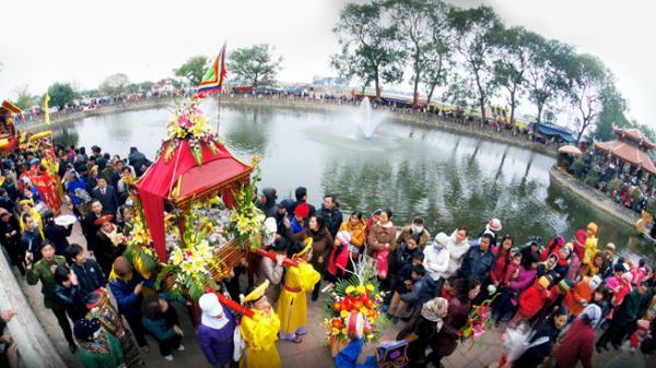 Độc đáo Lễ hội đền Phù Ủng - một trong những lễ hội lớn nhất Hưng Yên