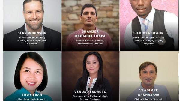 Cô Trần Thị Thúy ở Hưng Yên lọt top 50 giáo viên nhận giải Giáo viên Toàn cầu năm 2019