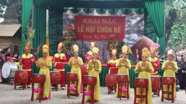 Khai hội chùa Kế - Bắc Giang