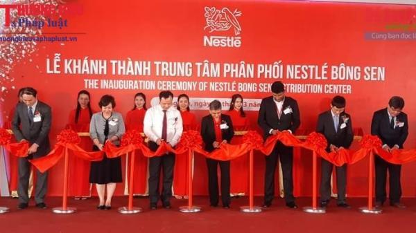 Nestlé Việt Nam khánh thành nhà máy phân phối LỚN NHẤT ở Hưng Yên