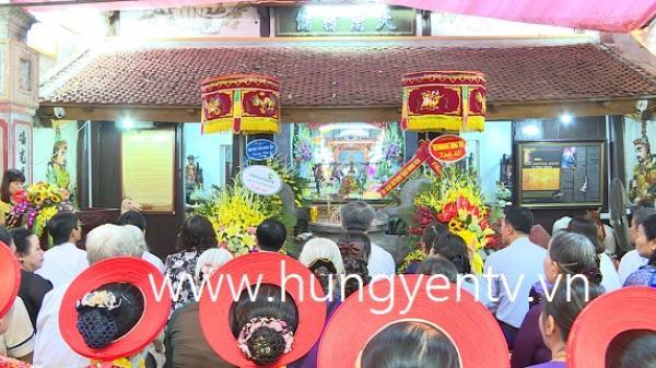 Khai hội đền Bà Chúa Kho ở TP Hưng Yên năm 2019