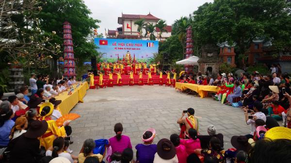 Hôm nay, Hưng Yên tổ chức lễ hội cầu mưa vô cùng độc đáo tại Văn Lâm