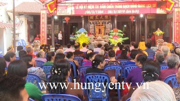 Khai mạc Lễ hội đền Trần tại thành phố Hưng Yên