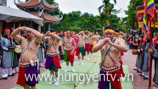 Lễ hội cầu mưa các chùa Tứ Pháp tổng Thái Lạc vô cùng đặc sắc ở Hưng Yên