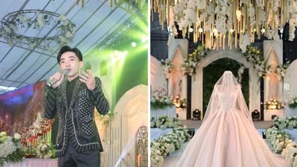 Cận cảnh đám cưới khủng ở miền Bắc có chi phí lên đến 2 tỷ đồng, mời cả ca sĩ Đan Trường về hát