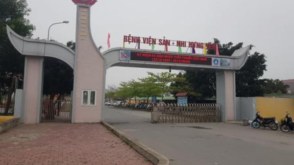Căn tin Bệnh viện sản nhi Hưng Yên công khai bán sữa bột công thức