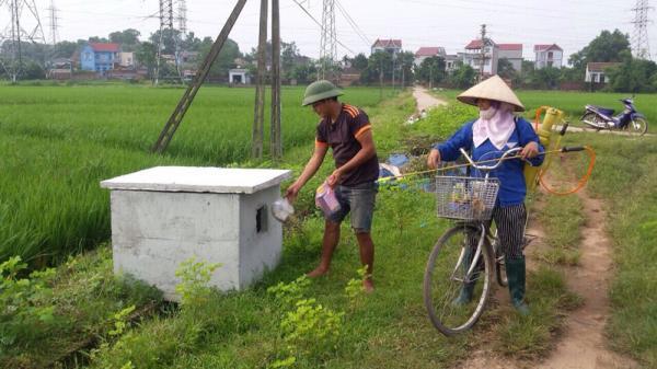 TP Bắc Giang: Chỉ trong 2 tháng hoàn thành lắp đặt 177 bể chứa rác thải, thuốc bảo vệ thực vật