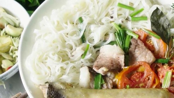 """Nếu có dịp đển Bắc Giang nhớ thưởng thức món mỳ gạo Châu Sơn """"tưởng quen mà lạ"""""""