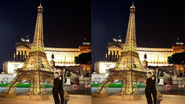 Về Bắc Giang nghe ca trù, ngắm tháp Eiffel đẹp lung linh bên bờ sông Thương