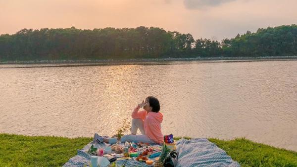 Bắc Giang: Phát hiện khúc ven sông Cầu cực deep như Đà Lạt thu nhỏ khiến giới trẻ phát cuồng