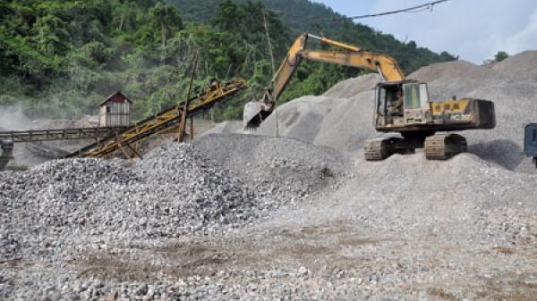 Nguy cơ tai nạn tại các mỏ đá