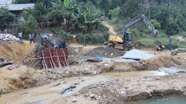 Bắc Kạn: Xây dựng cầu dân sinh từ dự án LRAMP