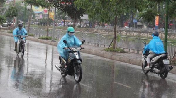Miền Bắc mưa lớn kéo dài đến hết tuần, nguy cơ lũ