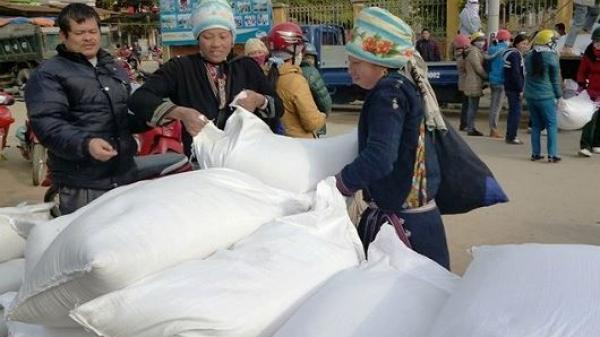 Chính phủ cấp gần 2.380 tấn gạo cho người dân Bắc Kạn và một số địa phương khác ăn Tết