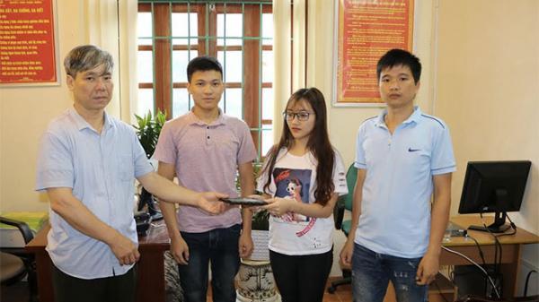 Bắc Kạn: Nam sinh viên trường Cảnh sát trả lại tài sản cho người đánh rơi