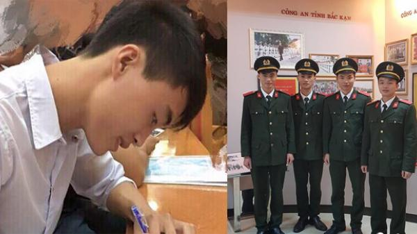Ngỡ ngàng trước sự thay đổi bất ngờ của cậu học trò nghèo Bắc Kạn với ước mơ trở thành chiến sĩ công an nhân dân