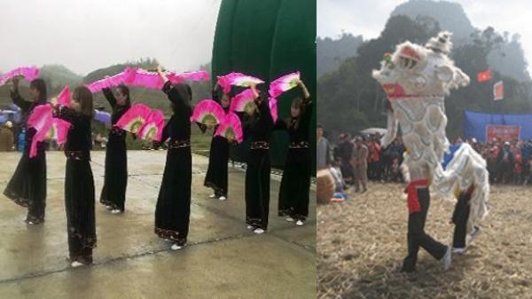 Rộn ràng không khí lễ hội Lồng tồng vô cùng độc đáo được tổ chức tại Bắc Kạn