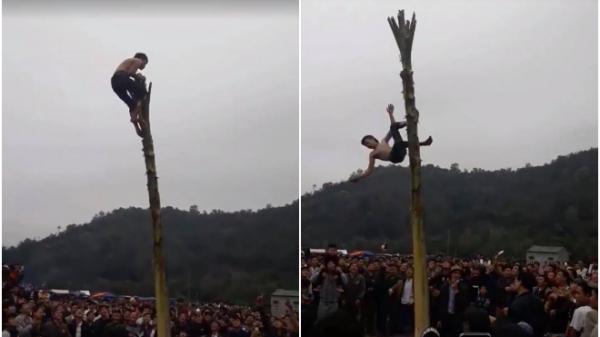 Bắc Kạn: Những thông tin mới nhất về vụ nam thanh niên rơi từ ngọn chuối xuống đất bất tỉnh trong lễ hội xuân
