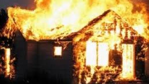 Một vụ hỏa hoạn xảy ra tại thành phố Bắc Kạn