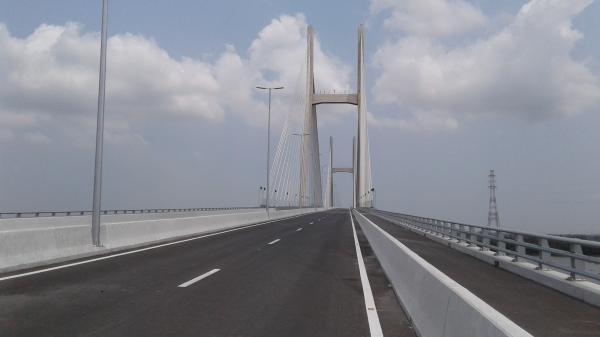 Miền Tây: Sắp khánh thành cây cầu dây văng 3.000 tỷ đồng