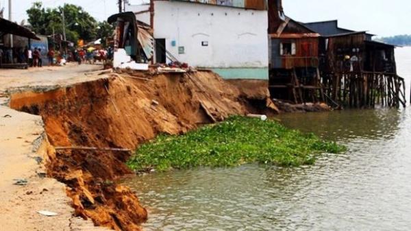 6.990 tỷ đồng xử lý sạt lở đất vùng Đồng bằng sông Cửu Long