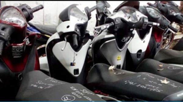 Truy tìm chủ sở hữu của 4 xe máy biển số An Giang