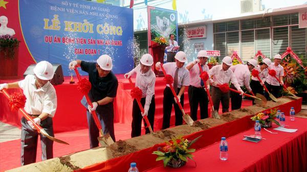 An Giang: Khởi công xây dựng Bệnh viện Sản - Nhi An Giang hiện đại