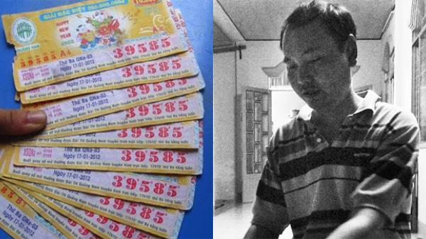 Hậu vận thảm hại của những người trúng xổ số tiền tỉ: Trúng số 4 tỉ đồng sau hai năm thành… phụ hồ