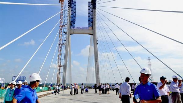 NÓNG: Thời gian chính thức khánh thành cầu Cao Lãnh và tuyến nối cầu Vàm Cống