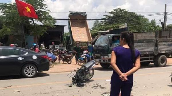 Va chạm với xe ben, thiếu nữ 19 tuổi An Giang t.ử v.ong và 1 cô gái khác bị th.ương nặng