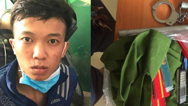 Nam thanh niên An Giang tham gia băng trộm nhí 'chôm' đồ cảnh sát để khoe khoang