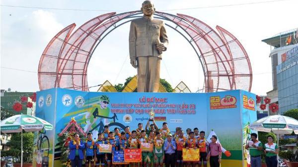 Gạo Hạt Ngọc Trời An Giang giành chức vô địch Tour xe đạp toàn quốc về nông thôn lần thứ 23 năm 2018