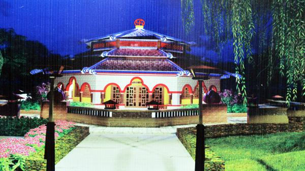 An Giang: Khởi công Nhà trưng bày tại chùa Phật Thới Sơn