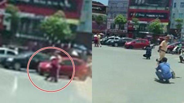 Sự thật về đoạn clip CSGT dìu cụ bà sang đường, nhiều phóng viên vây quanh chụp ảnh