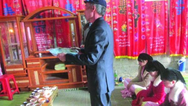 Độc đáo tục cưới xin truyền thống của người Tày
