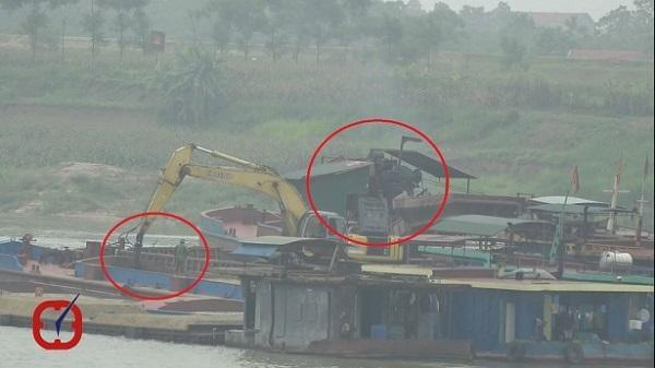 MTTQ Việt Nam vào cuộc, đại công trường bất thường trên sông Lô giảm công suất khai thác cát