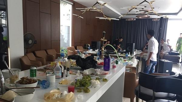 """Hàng chục nam nữ thuê căn hộ cao cấp giá 25 triệu đồng/ngày đêm để mở """"tiệc ma tuý"""" và thác loạn"""