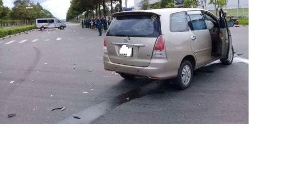 Nóng: Va chạm giao thông, bé trai bị xe ô tô đè lên người t.ử vo.ng