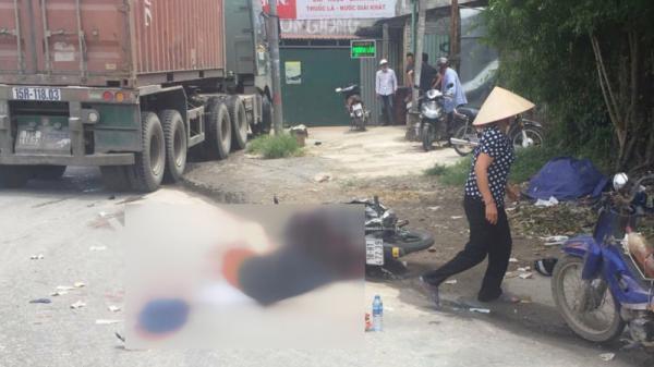 Ngã ra đường, anh trai quê Nam Định bị xe tải cán chết thương tâm trước mặt em nhỏ