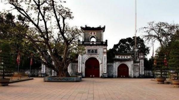 Bộ VHTTDL thống nhất trùng tu một số hạng mục Khu di tích Đền Trần Nam Định