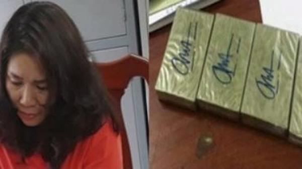 Bắc Kạn: Tóm gọn người đàn bà đi xe khách 'ôm' 4 bánh heroin
