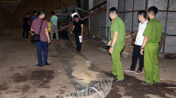 Bị cuốn vào băng tải, 1 công nhân quê Thái Bình t.ử v.o.ng tại chỗ