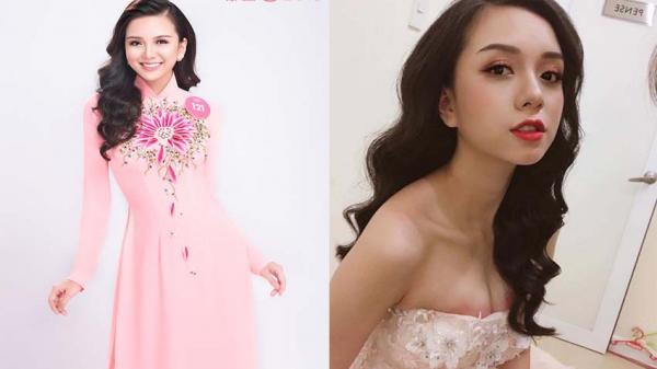 Ứng cử viên tiềm năng cho vị trí Hoa hậu Việt Nam 2018 quê Nam Định lộ mặt mộc gây SỐC