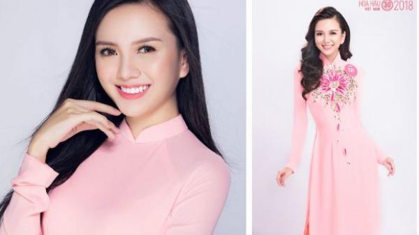 Bất ngờ với nhan sắc đời thường của người đẹp quê Nam Định - 1 trong những thí sinh đang được chú ý nhất tại Hoa hậu Việt Nam 2018