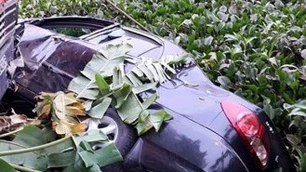 Tài xế tử vong trong ô tô lật dưới ao: Xót lòng cuộc gọi cuối về cho người thân