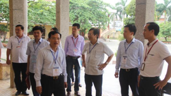 Nóng: Kiểm tra công tác tổ chức thi THPT quốc gia tại Nam Định