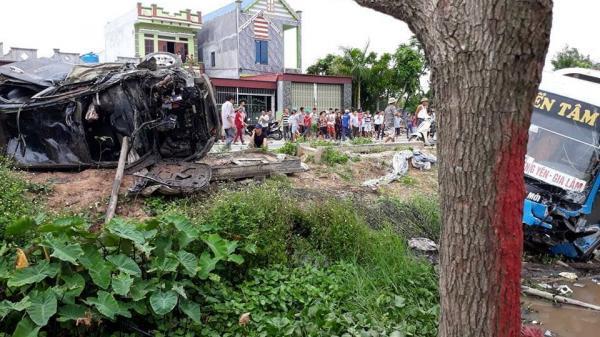 Nóng: Xác định danh tính 2 nạn nhân tử vong vụ tai nạn liên hoàn ở Thái Bình