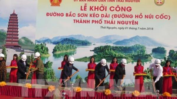 Thái Nguyên: Khởi công xây dựng đường Bắc Sơn kéo dài