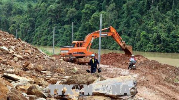 Khai thông nhiều tuyến quốc lộ và tỉnh lộ sau mưa lũ ở Thái Nguyên và các vùng lân cận